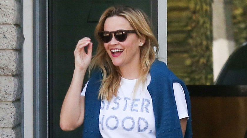 Reese Witherspoon in sisterhood tee in LA