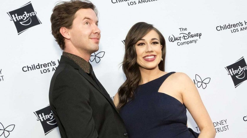 Colleen Ballinger and Erik Stocklin