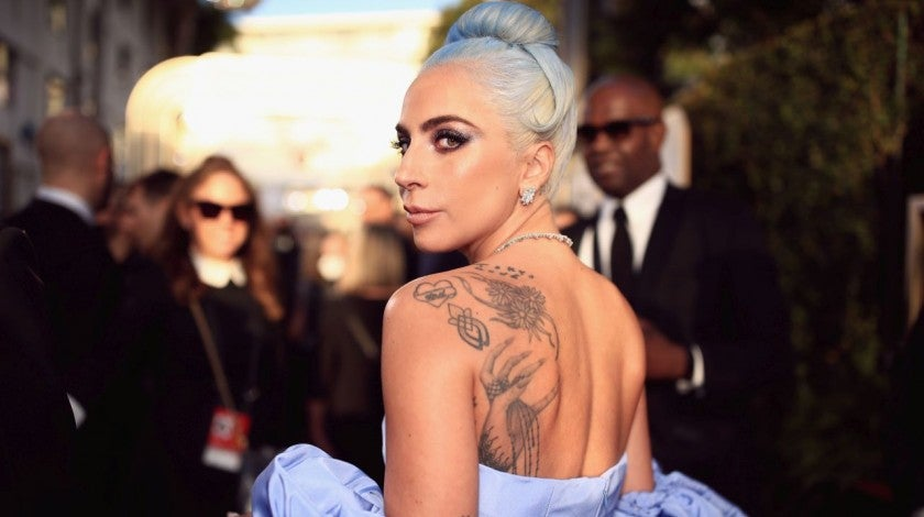 Lady Gaga at Golden Globes
