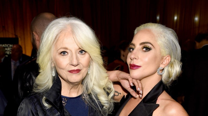 Cynthia Germanotta and Lady Gaga at The National Board of Review Annual Awards Gala