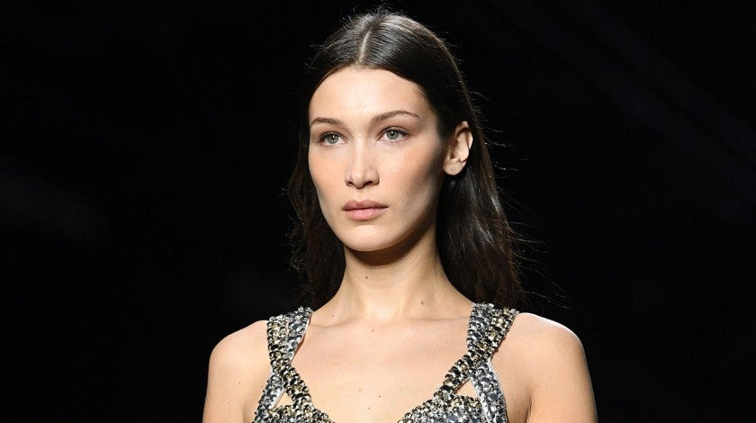 Bella Hadid during Milan Fashion Week - Alberta Ferretti show
