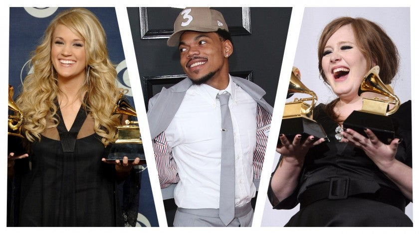 Grammy awards new artist winner split