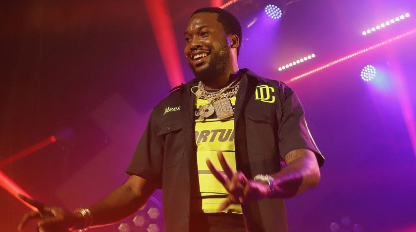 Meek Mill on tour in Miami Beach