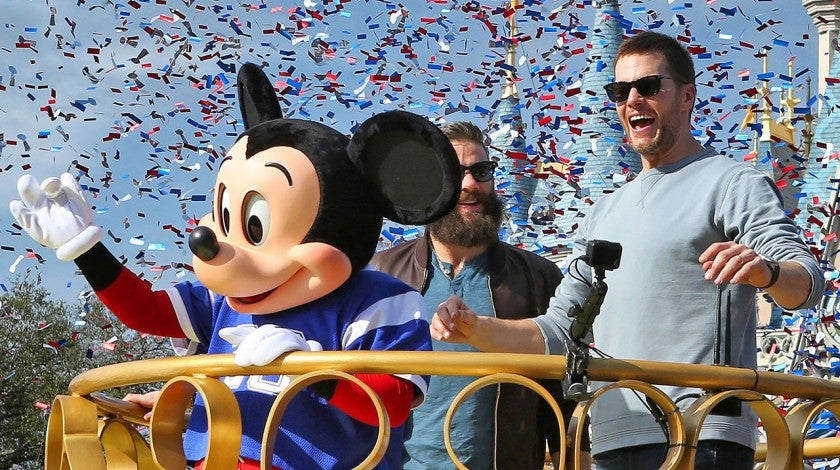 Tom Brady at Disney World