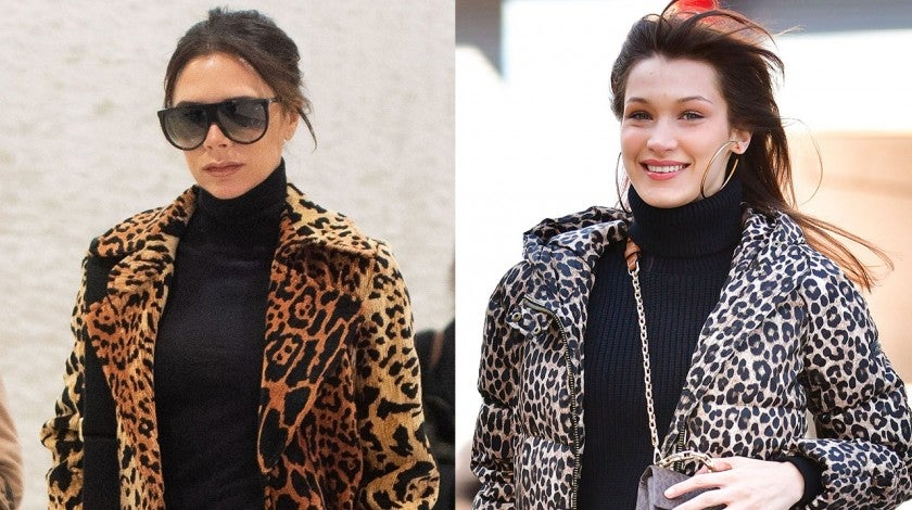 Victoria Beckham and Bella Hadid split pic