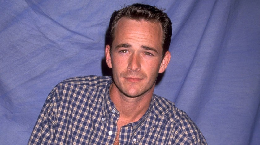 Luke Perry in 1991