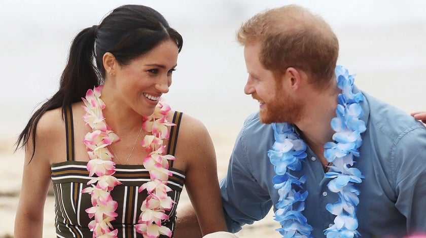 Meghan and harry in south bondi beach