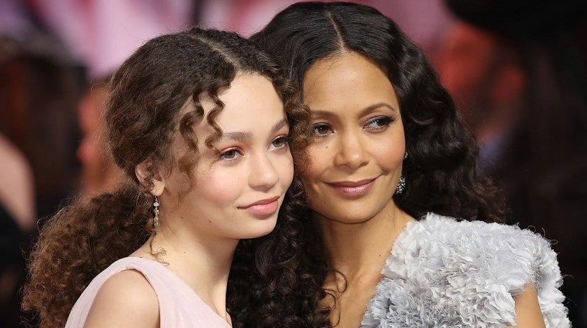 Nico Parker and Thandie Newton