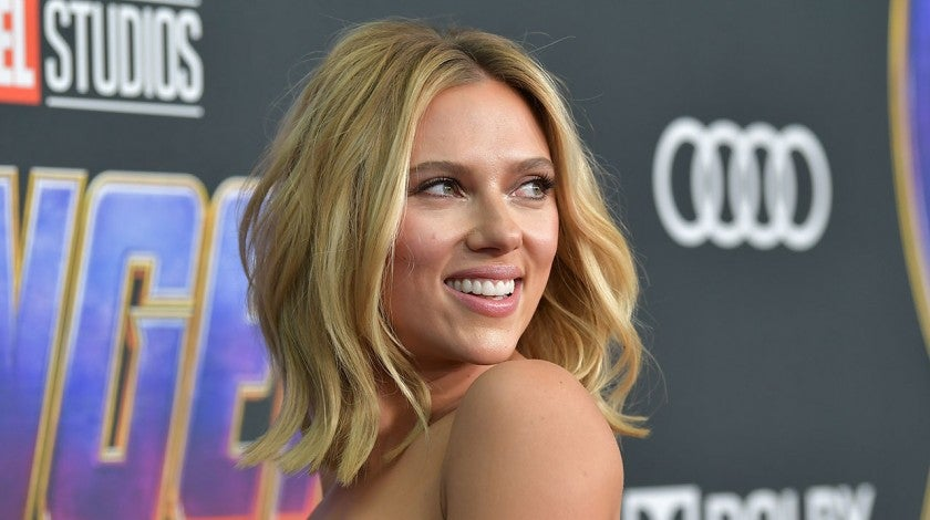 Scarlett Johansson at the world premiere of Avengers: Endgame