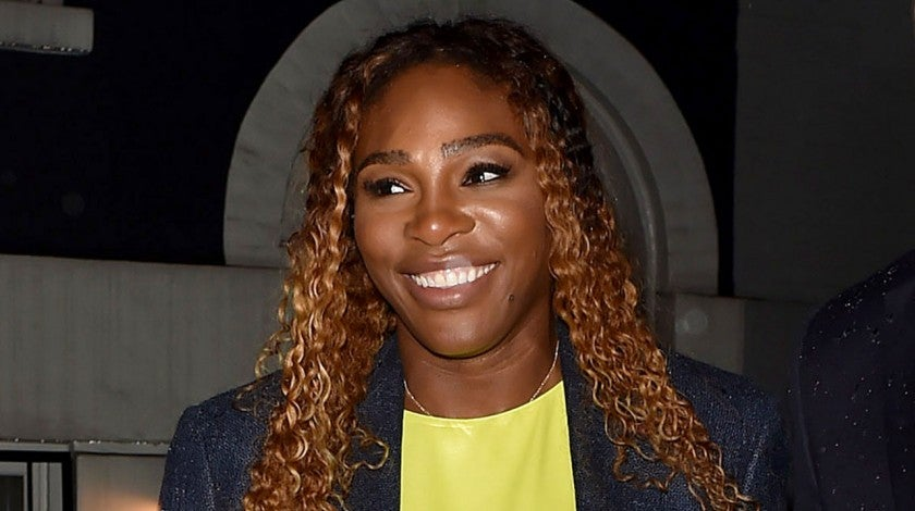 Serena Williams at pre-met gala party