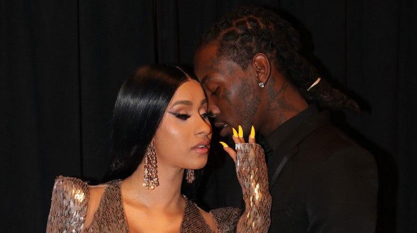 Cardi B and Offset at 2019 BBMAs