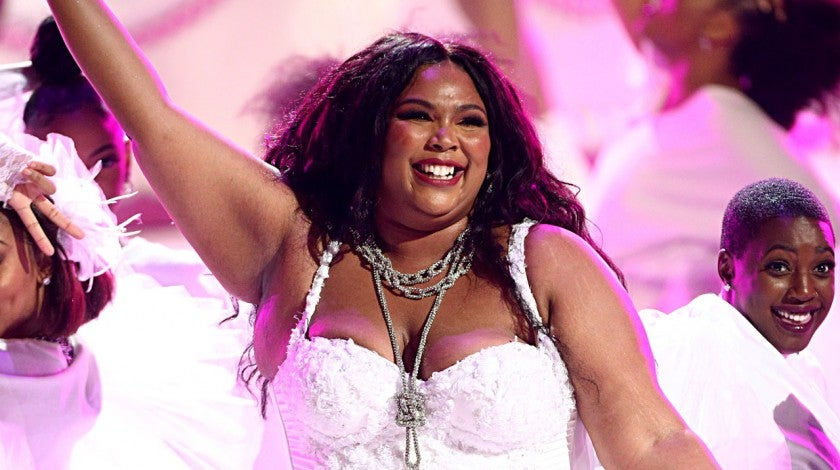 Lizzo performs in 2019 bet awards