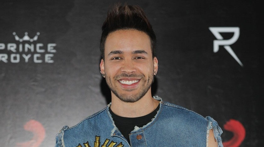 Prince Royce in Mexico City in July 2018