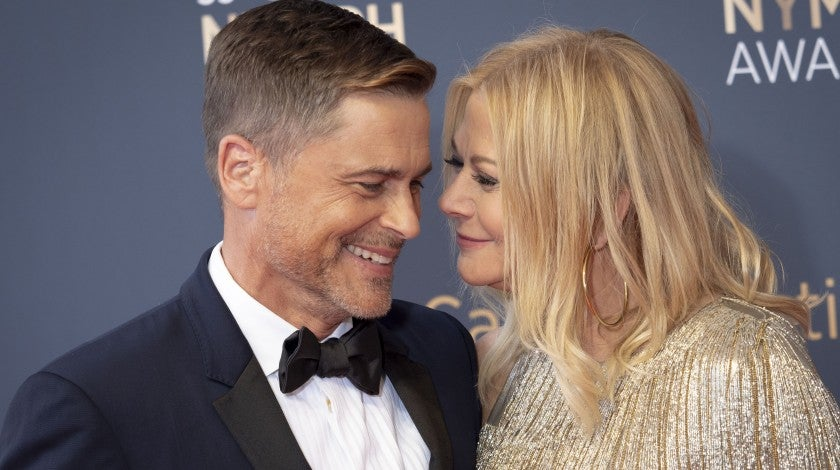 Rob Lowe and wife Sheryl Berkoff at the closing ceremony of the 59th Monte Carlo TV Festival