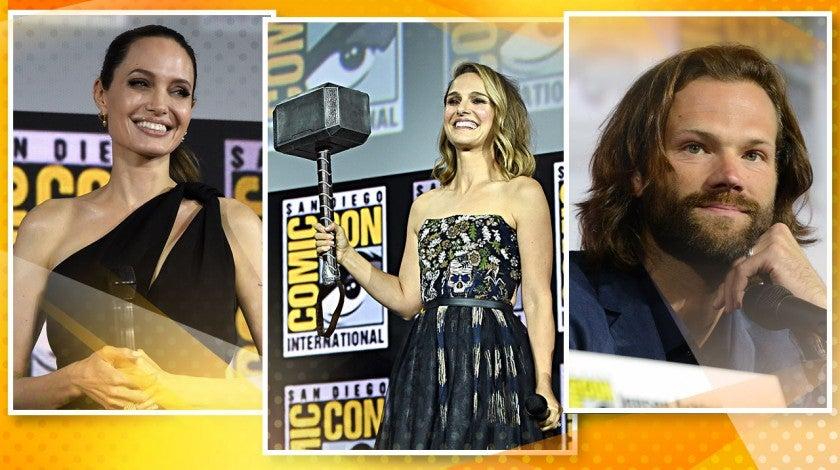 Comic Con Cover: Angelina Jolie Natalie Portman, Jared Padalecki