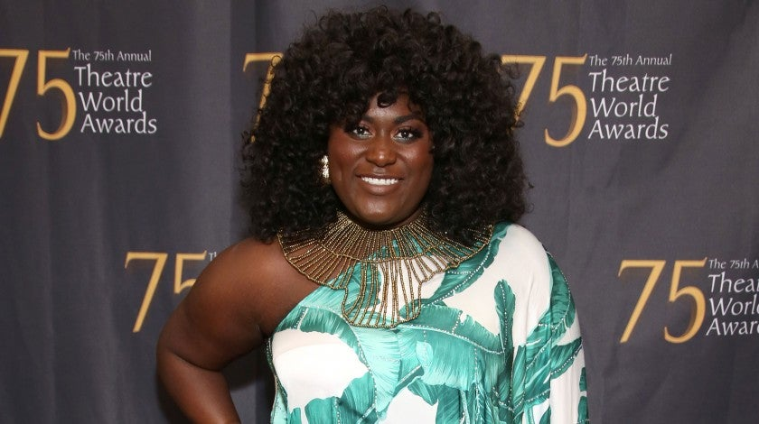 Danielle Brooks at the 75th Annual Theatre World Awards