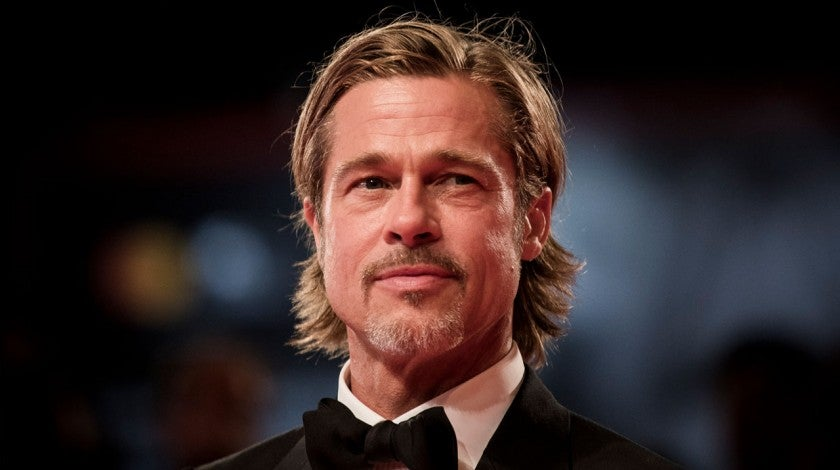 Brad Pitt at ad astra screening