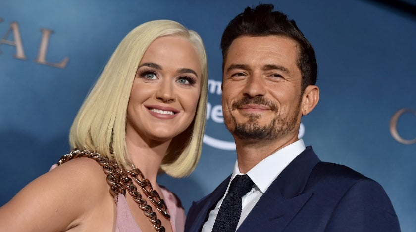 "Katy Perry and Orlando Bloom at the LA Premiere of Amazon's ""Carnival Row"""