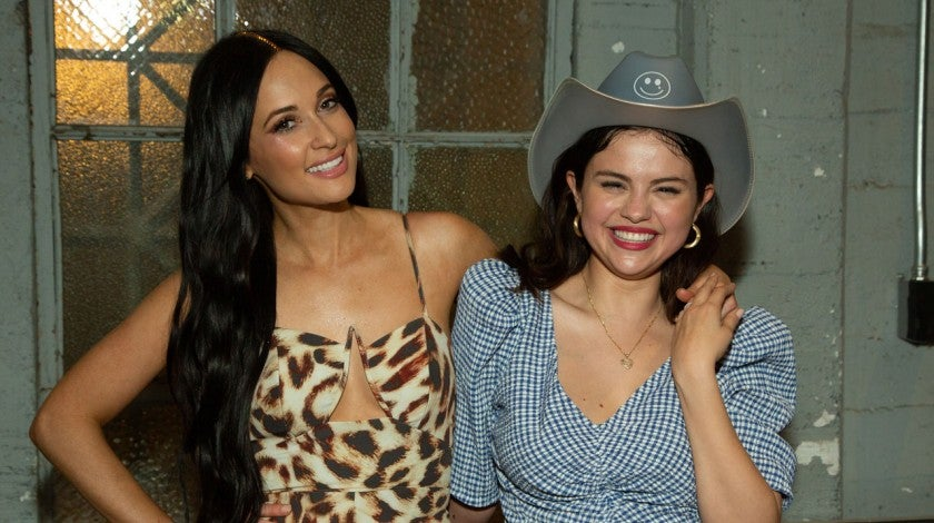 kacey Musgraves and selena gomez at greek theater
