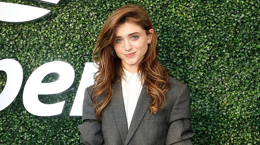 natalia dyer at us open
