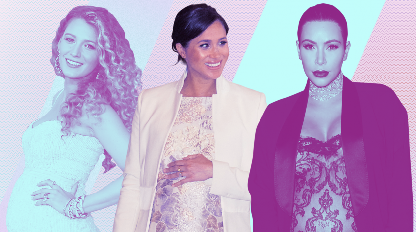 Pregnancy Gallery: Blake Lively, Meghan Markle and Kim Kardashian West