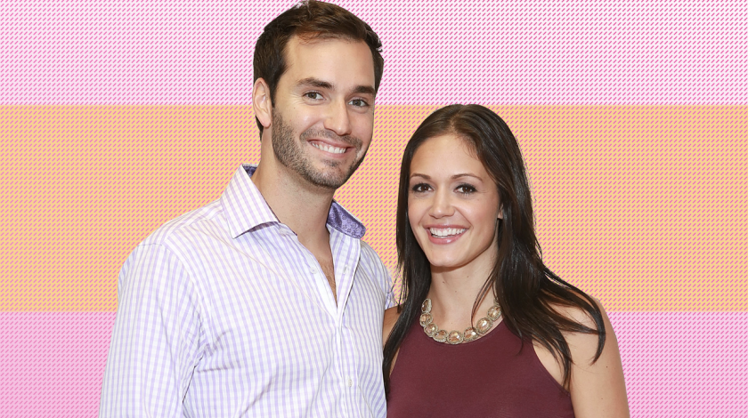 Chris Siegfried and Desiree Hartsock in 2013