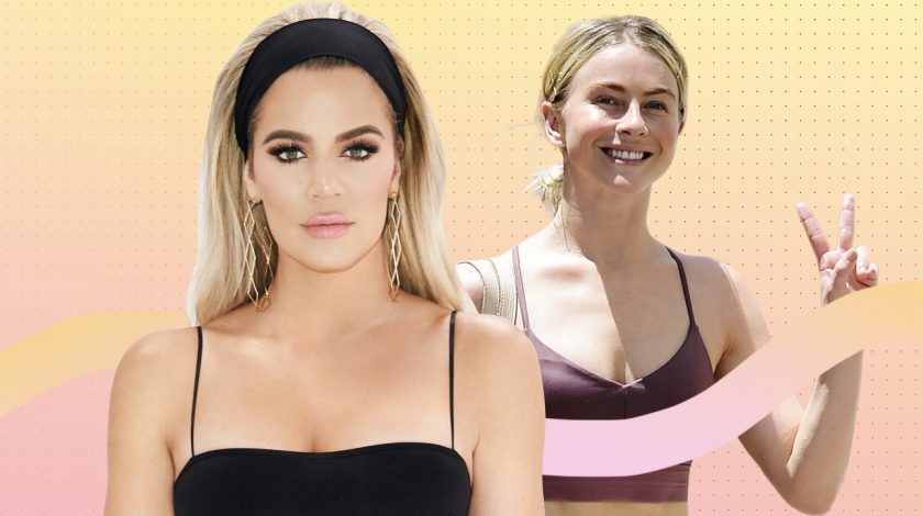 workout: khloe kardashian and julianne hough