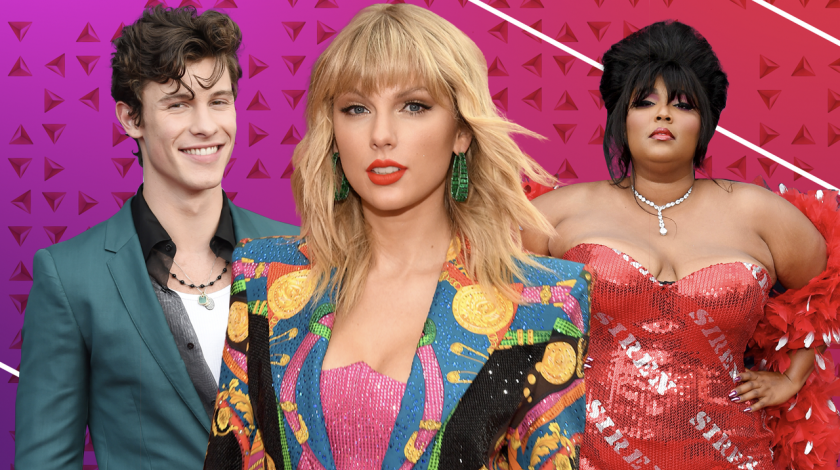 2019 VMAs - Shawn Mendes, Taylor Swift, Lizzo