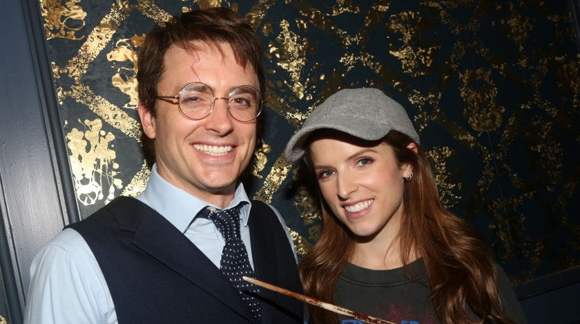 anna kendrick at harry potter on broadway