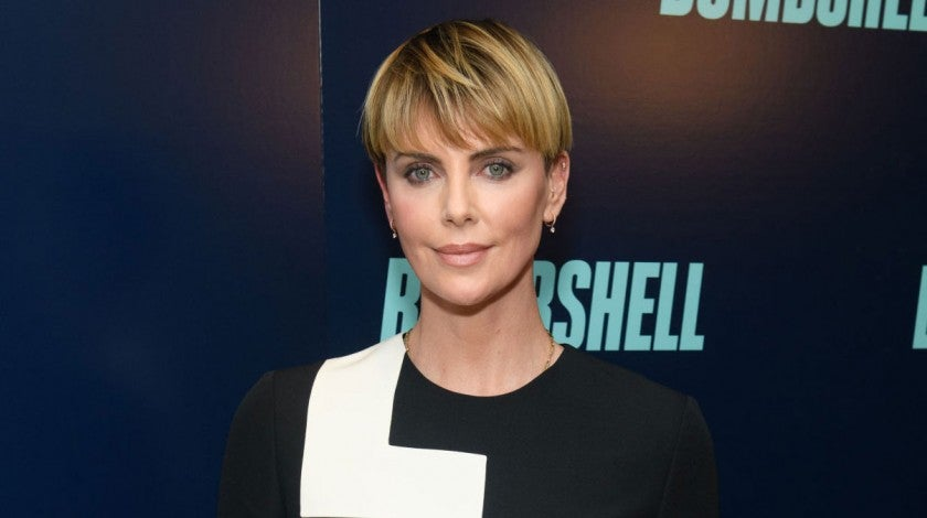 charlize theron at bombshell screening
