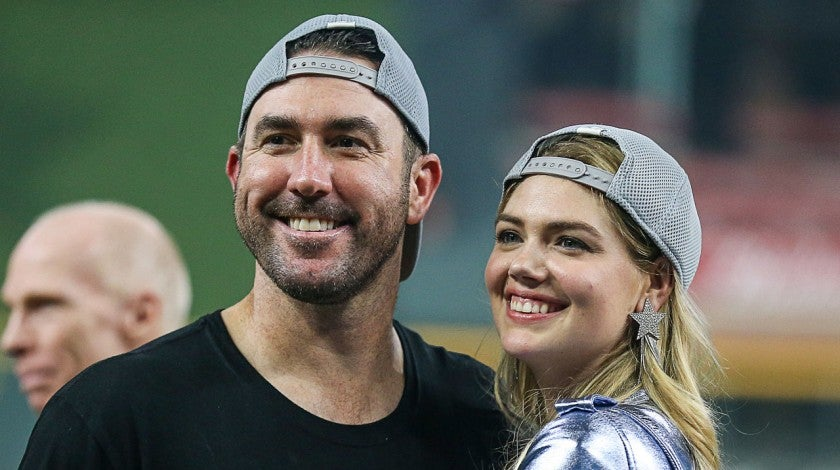 kate upton and justin verlander at alds