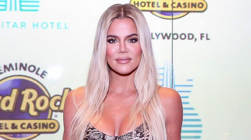 Khloe Kardashian at the Grand Opening of the Guitar Hotel expansion in miami