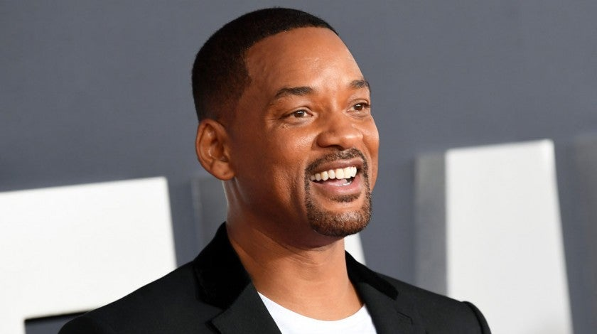 will smith at gemini man premiere