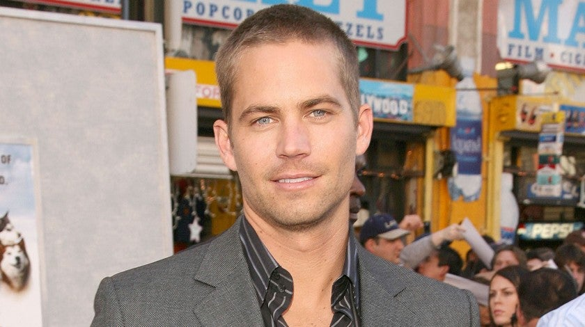 paul walker at eight below premiere