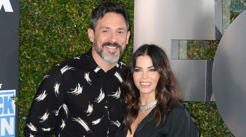 Steve Kazee and Jena Dewan in October 2019