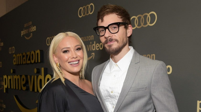 Hilary Duff and Matthew Koma at the Amazon Prime Video's Golden Globe Awards After Party