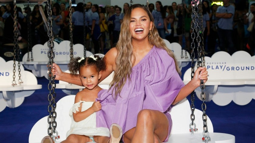 Luna and Chrissy Teigen in June 2019