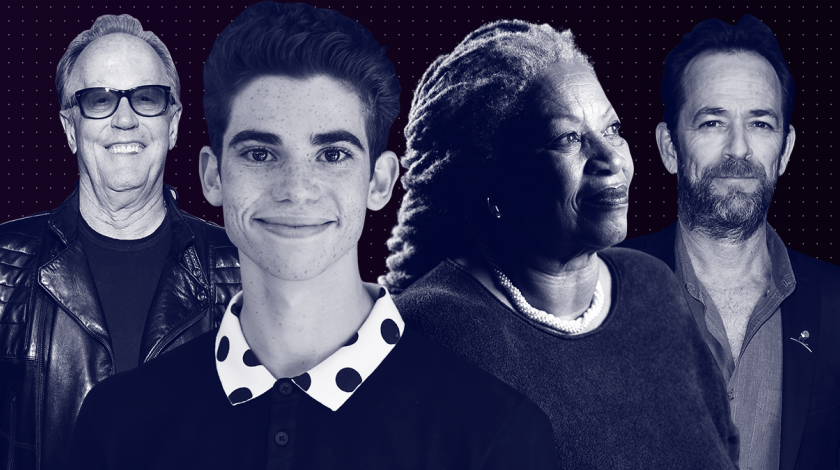 stars we've lost 2019 - peter fonda, cameron boyce, toni morrison, luke perry