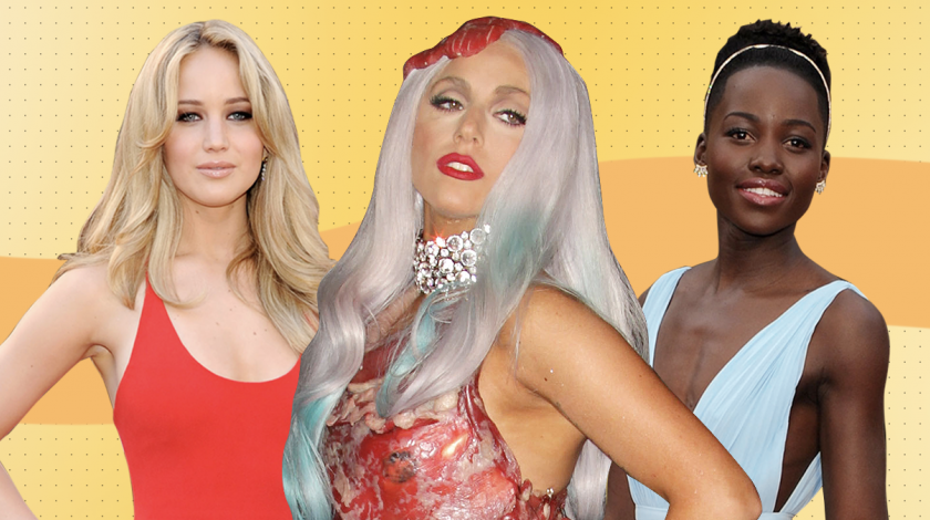 Jennifer Lawrence, Lady Gaga & Lupita N'yongo - Most Memorable Red Carpet Moments of the Decade