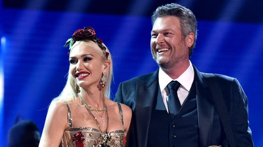 Gwen Stefani and Blake Shelton perform at the 62nd Annual GRAMMY Awards