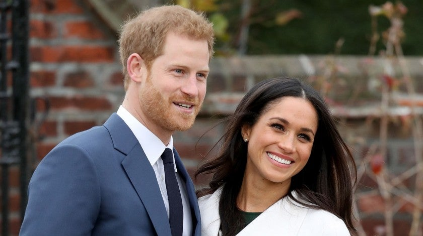 prince harry and meghan markle in november 2017