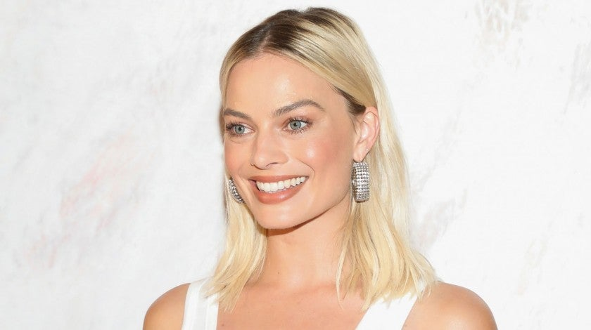 "Margot Robbie at the ""Birds of Prey (and the Fantabulous Emancipation Of One Harley Quinn)"" Mexico City Pink Carpet"