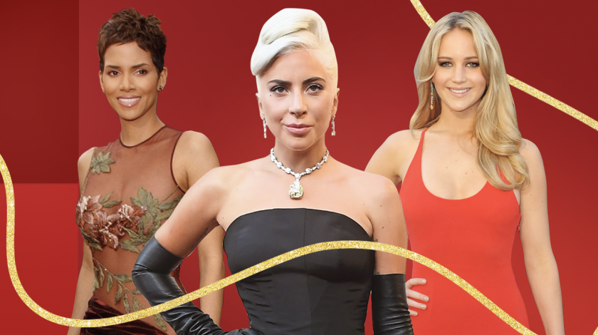 oscars best dressed: halle berry, lady gaga, JLaw
