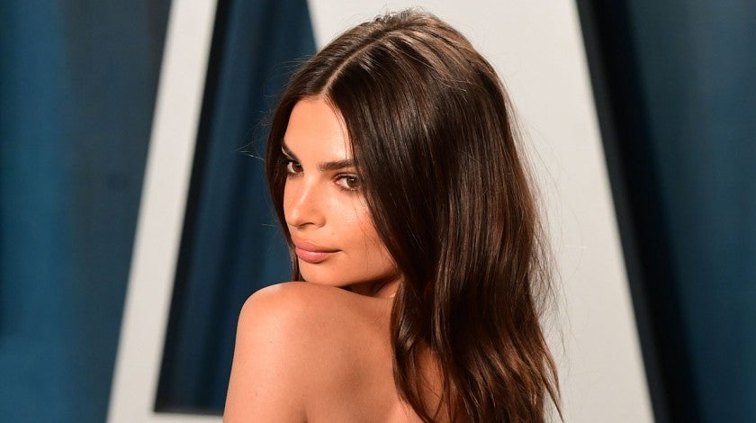 emily ratajkowski at vf party 2020