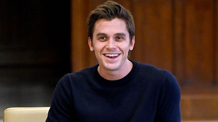 Antoni Porowski speaks with LGBTQ student leaders In NYC
