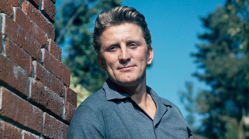 Kirk Douglas in 1955