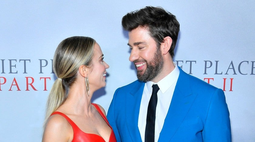 emily blunt and john krasinski at a quiet place 2 world premiere