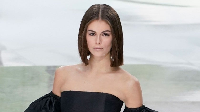 Kaia Gerber walks the runway during the Chanel - paris fashion week