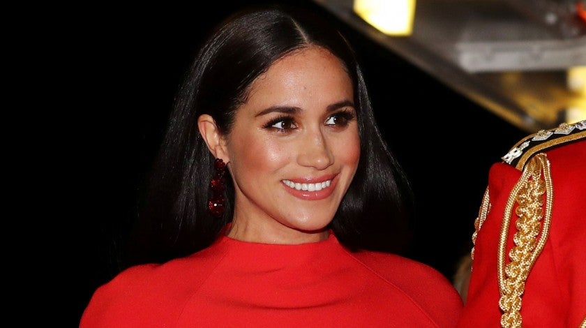 Meghan Markle at the Mountbatten Music Festival at Royal Albert Hall in london