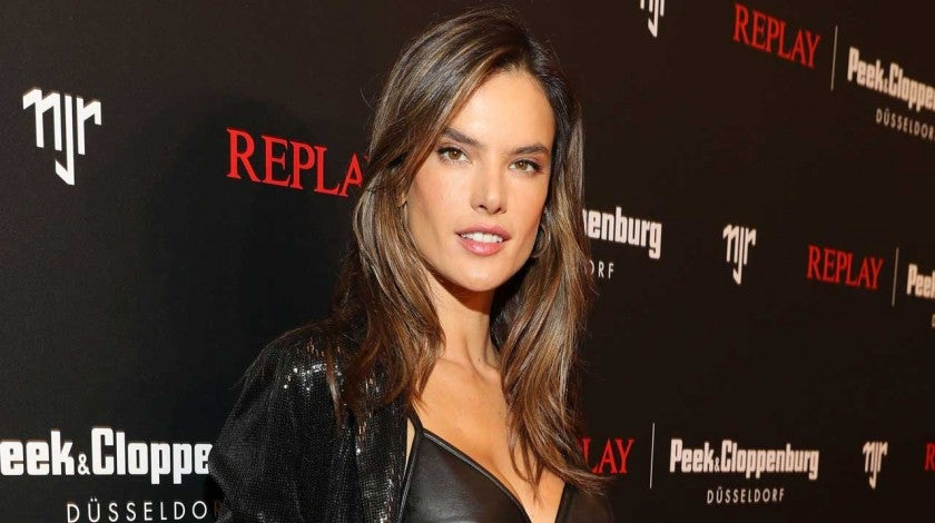 Alessandra Ambrosio in Germany in Feb 2020